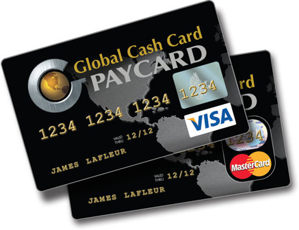 Activate Global Cash Card