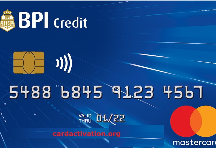 BPI Blue Mastercard Activation