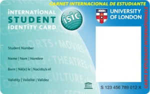 ISIC Card Activation