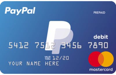 PayPal Credit Card Activation