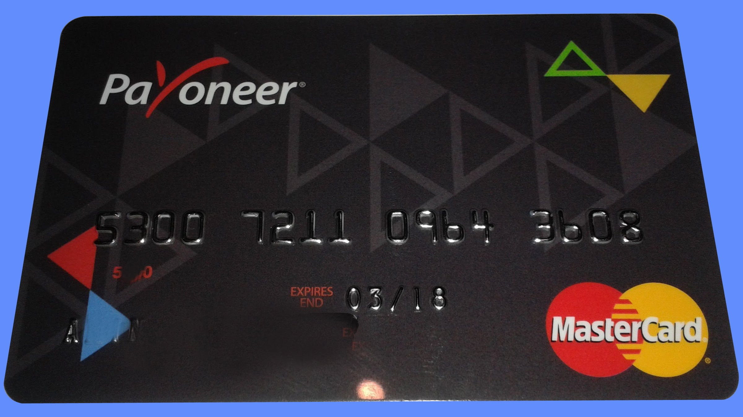 Payoneer Card Activation