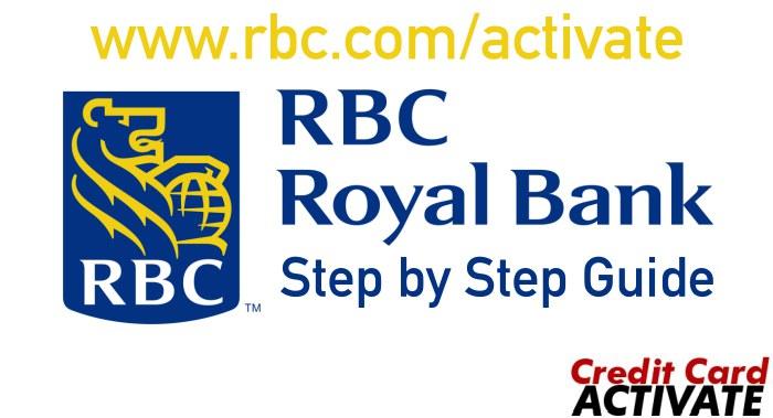 RBC Debit Card Activation
