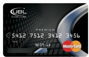 UBL Mastercard Activation