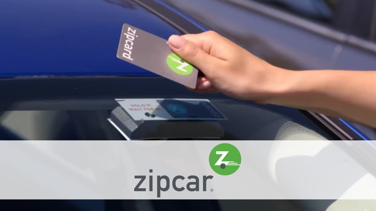 Activating the Zipcar card